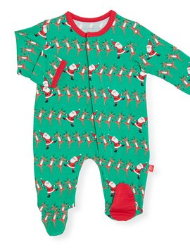 Magnificent Baby Holly Folly Jolly Footie