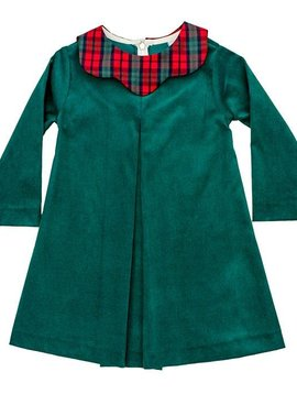 Bailey Boys December Plaid/Clover Cord Dress