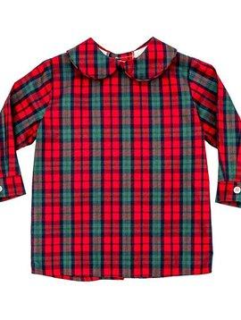 Bailey Boys December Plaid Piped Shirt