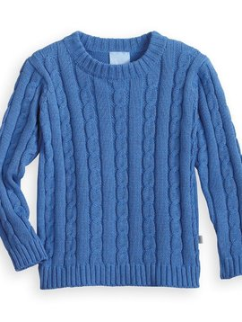 bella bliss Royal Cableknit Pullover
