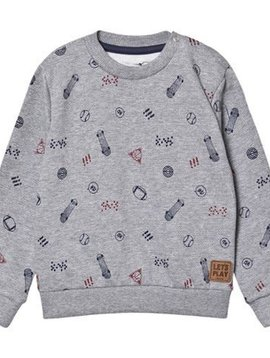 MinyMo Grey Graphic Sweatshirt