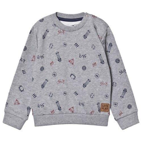 MinyMo Grey Graphic Sweatshirt