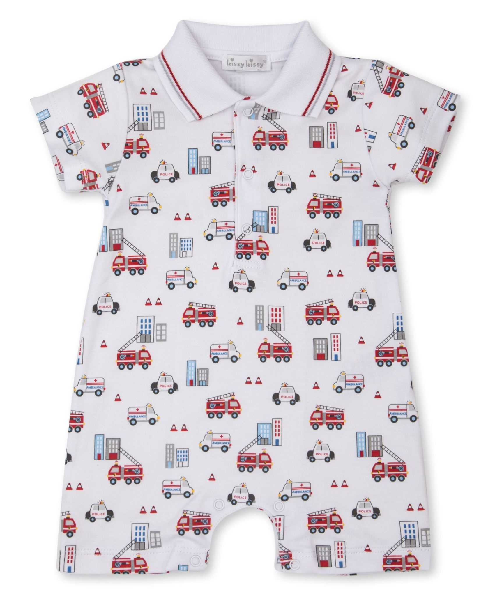 Kissy Kissy City Rescue Short Playsuit
