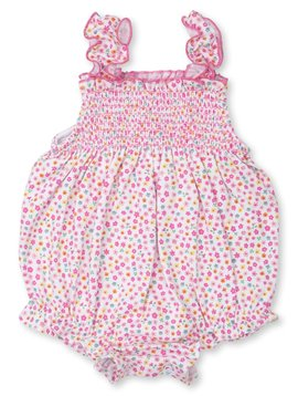 Kissy Kissy Unicorn Gardens Smocked Bubble