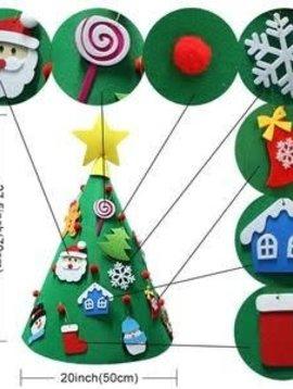 Freeship Felt DIY Christmas Tree