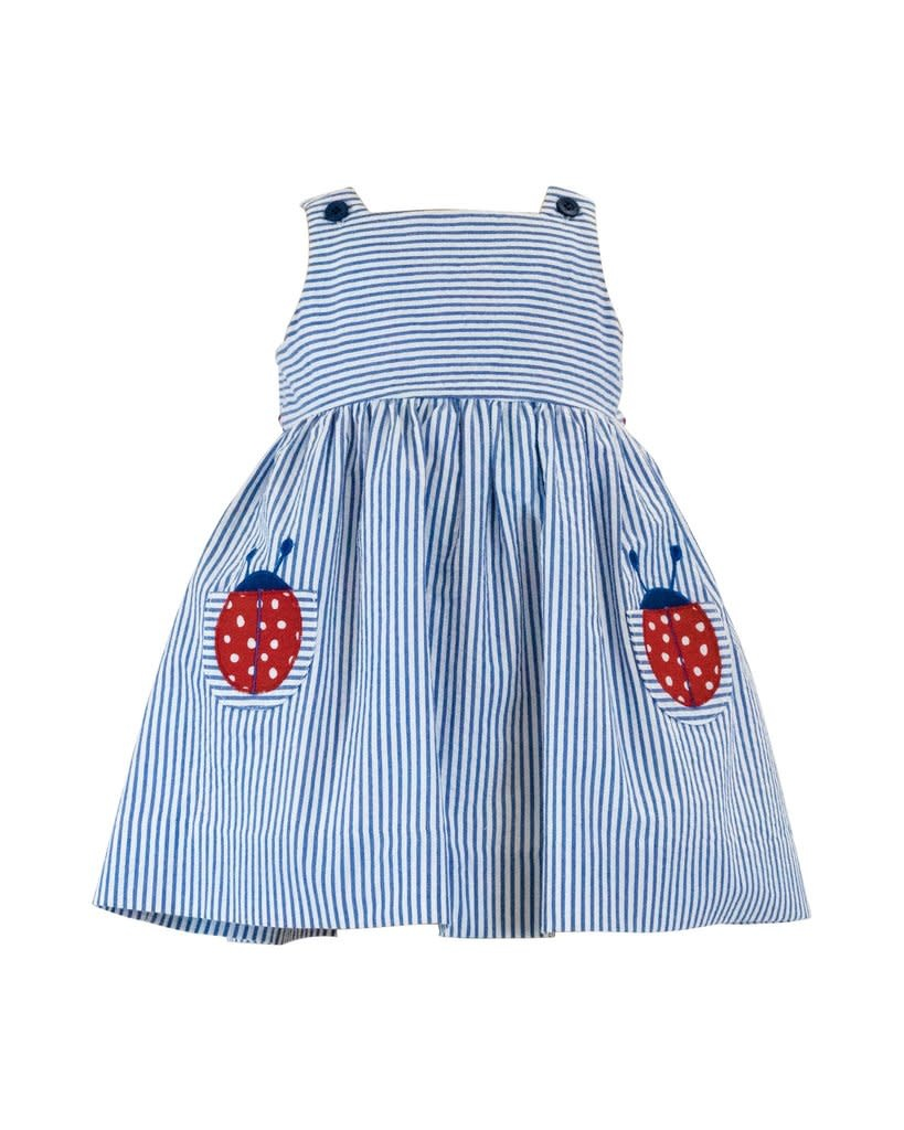 Florence Eiseman Seersucker Ladybug Dress