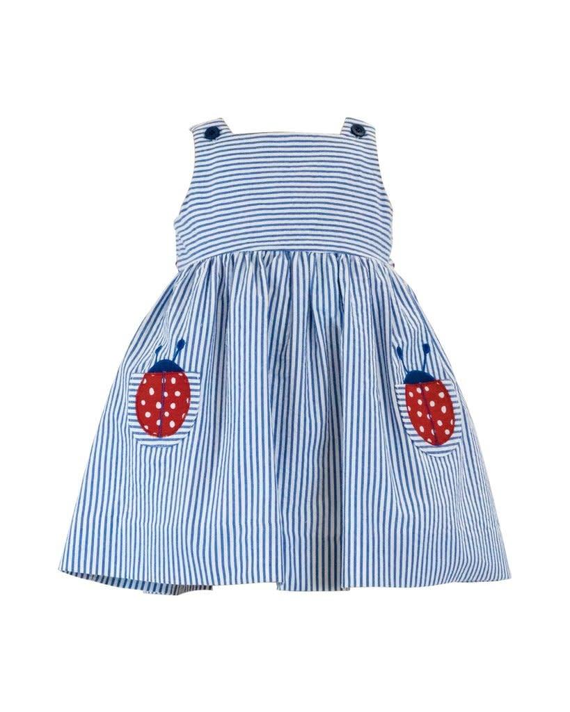 Florence Eiseman Seersucker Ladybug Dress