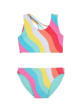 Feather 4 Arrow Tropical Reversible Bikini
