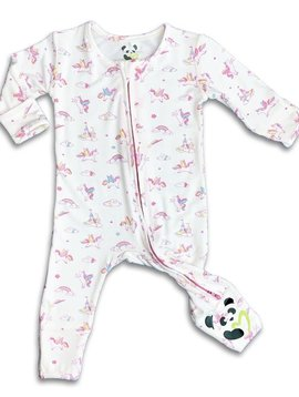 Bellabu Bear Bamboo Convertible Footie