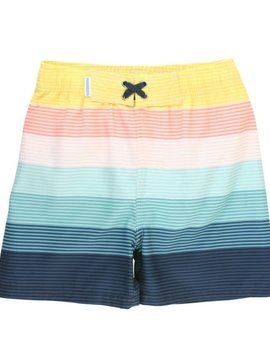 Ruffle Butts Island Stripe Trunks