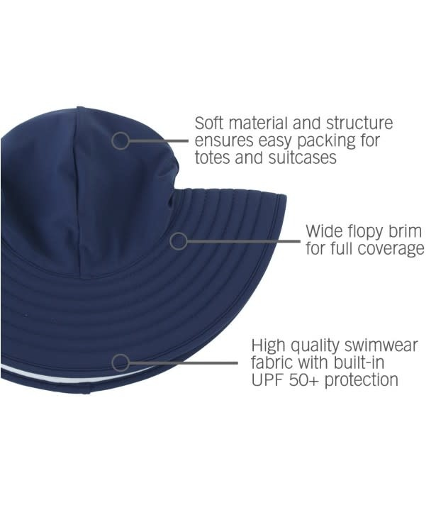 Ruffle Butts Swim Hat