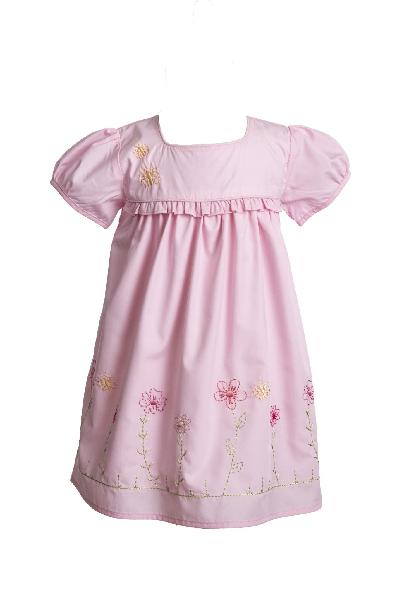 The Yellow Lamb Flora Dress