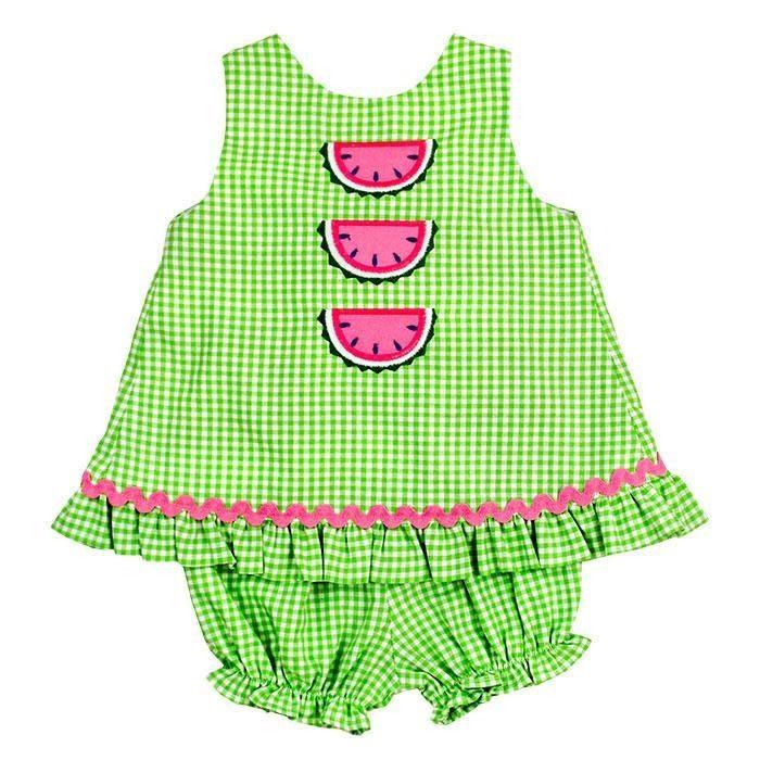 Bailey Boys Watermelon Angel Dress