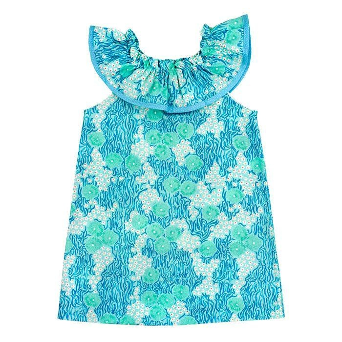Bailey Boys Turquoise Print Kiki Dress