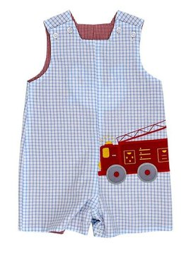 Bailey Boys Reversible Firetruck John John