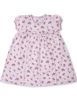 Kissy Kissy Strawberry Soiree Toddler Dress