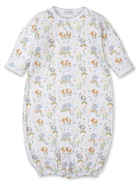 Kissy Kissy Rainbow Elephants Conv Gown