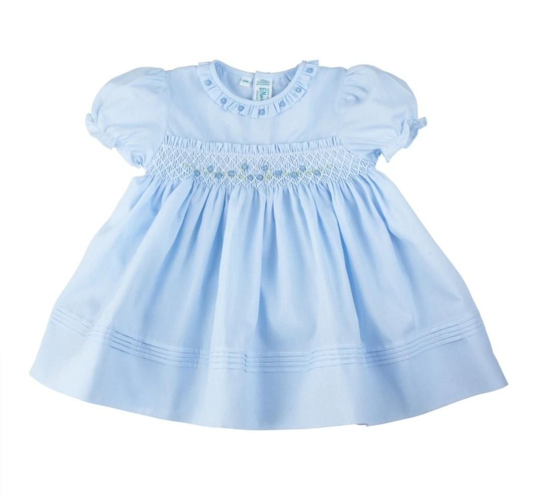 Feltman Brothers Blue Rose Garden Collection Dress