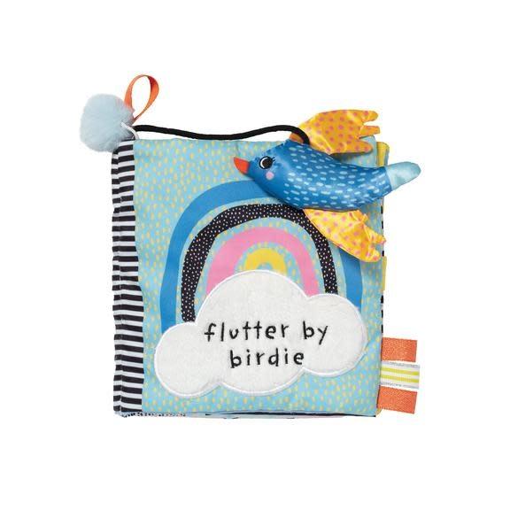 Manhattan Toy Co Flutter By Birdie Soft Book