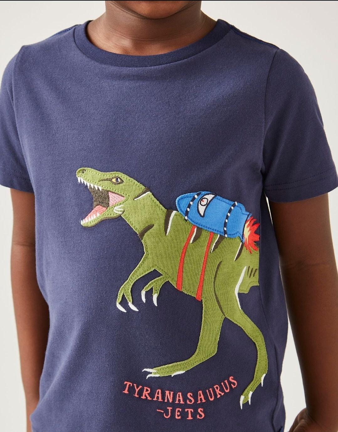 Joules Tyranosaurus Jets T-shirt