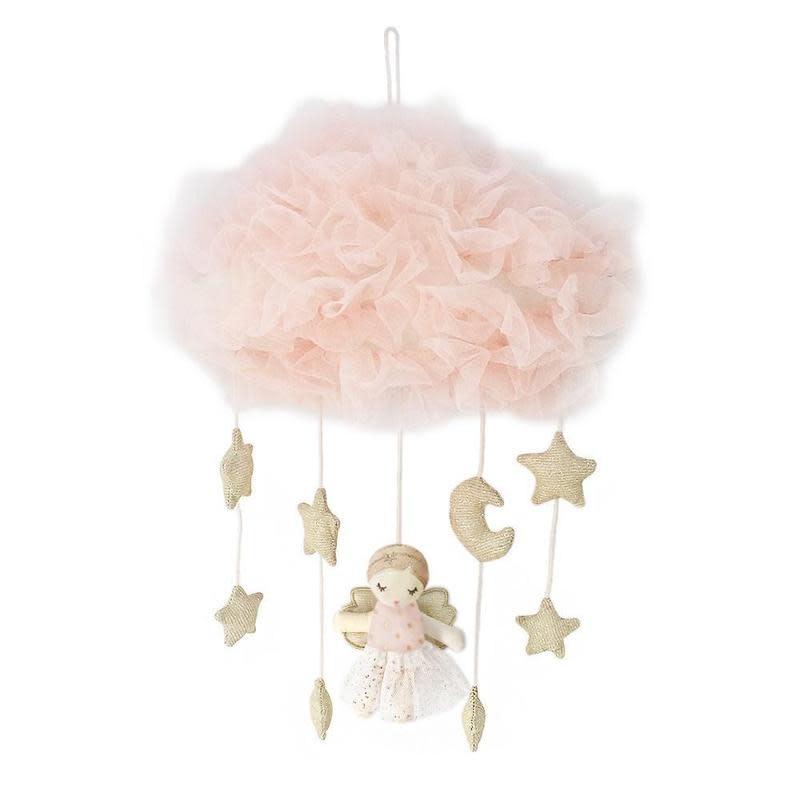 Mon Ami Pink Angel Celestial Mobile
