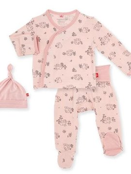 Magnificent Baby Koala Cuddles 3pc Kimono Set