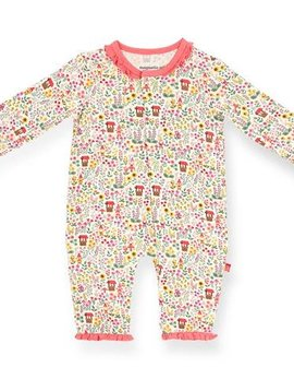 Magnificent Baby Gnome Sweet Gnome Modal Coverall