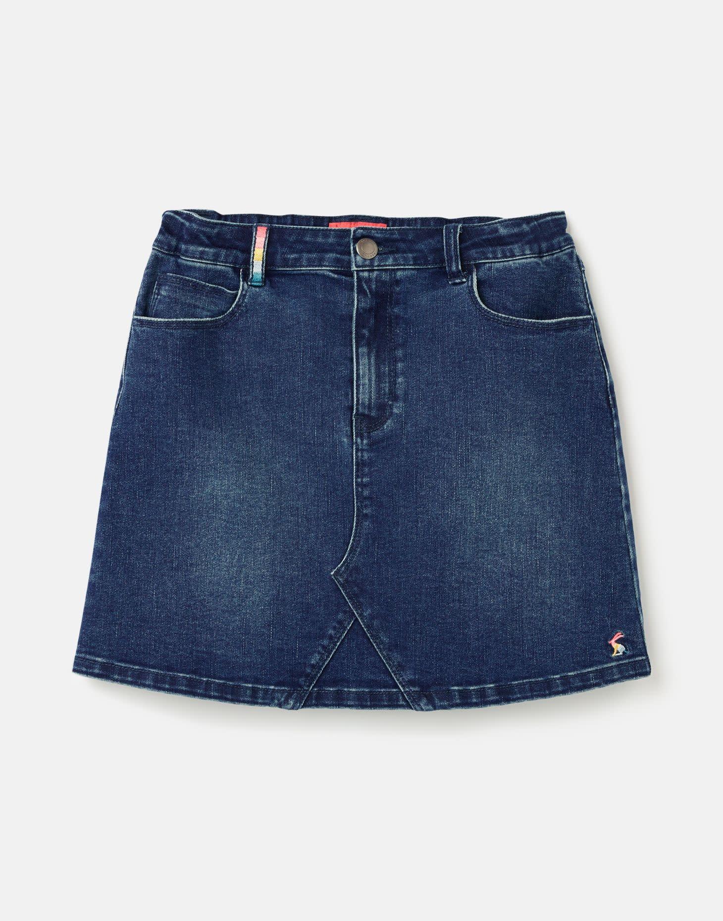 Joules Hollis 5 Pocket Denim Skirt
