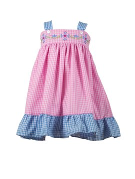 the proper peony Celeste Gingham Sundress