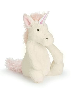 "Jellycat Bashful Unicorn (7"")"