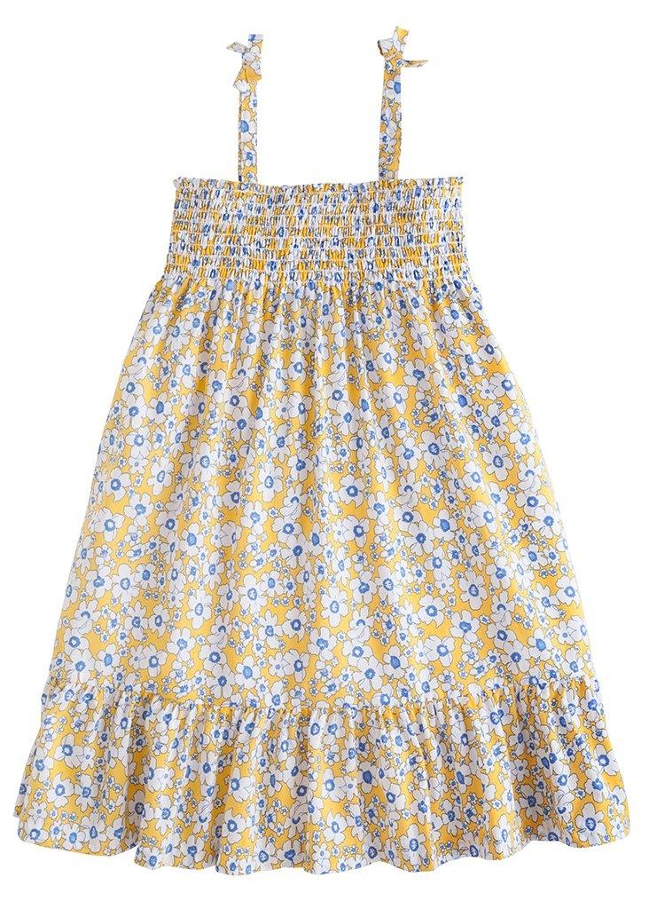 Little English Yellow Daisy Lucy Dress