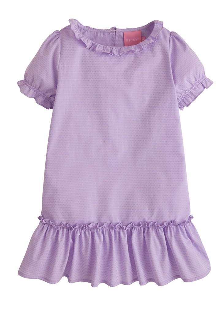 Bisby Purple Dot Samantha Dress