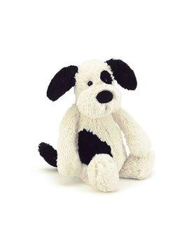 Jellycat Bashful Black/Cream Puppy small