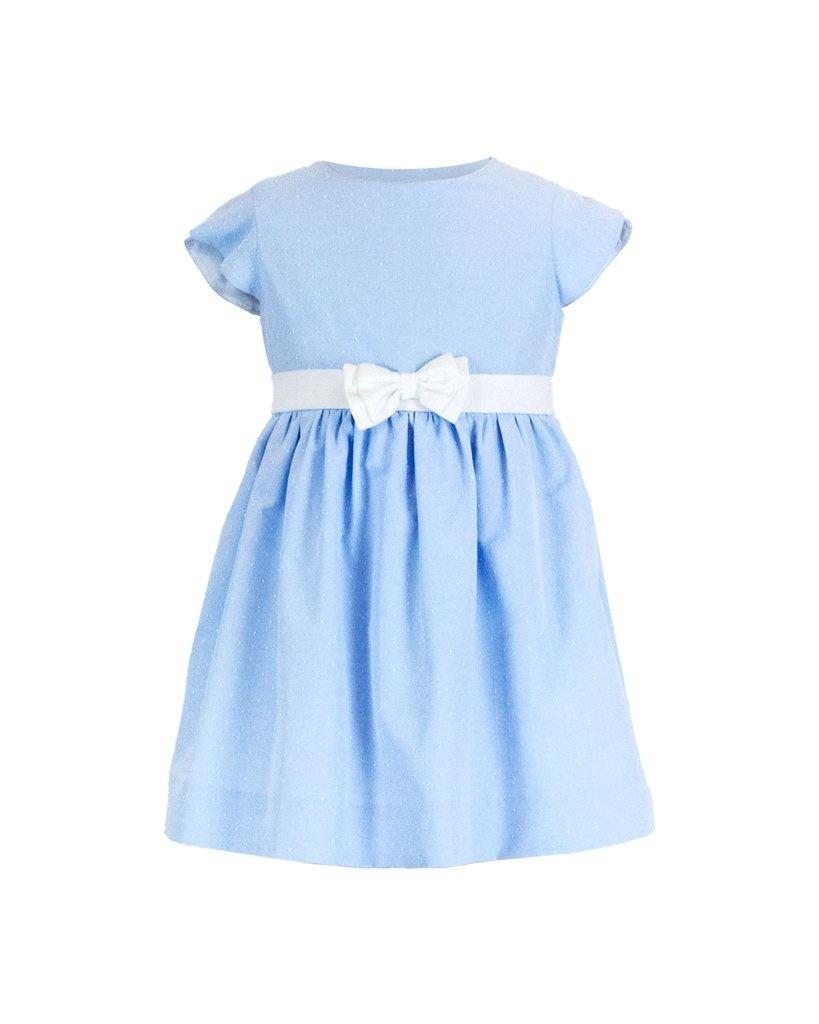 Florence Eiseman Blue Dot Dress