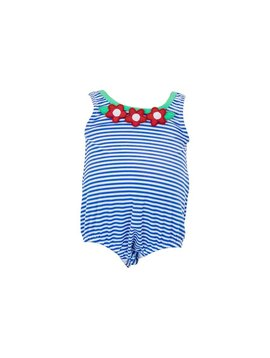 Florence Eiseman Seersucker Bubble Swimsuit