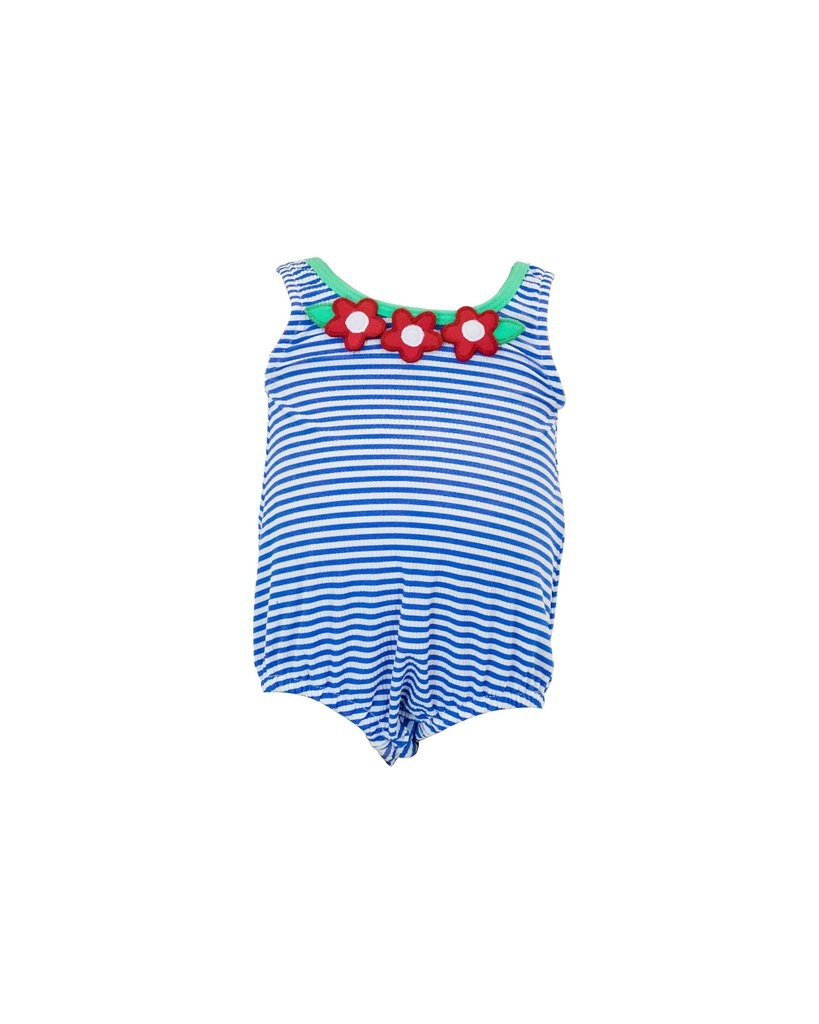 Florence Eiseman Seersucker Bubble Swimsuit
