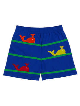 Florence Eiseman Whale Swim Trunks