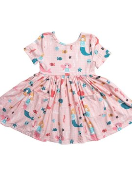 Mila & Rose Under the Sea Pocket Twirl Dress