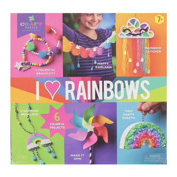 Ann Williams Craft-Tastic I Love Rainbows Kit