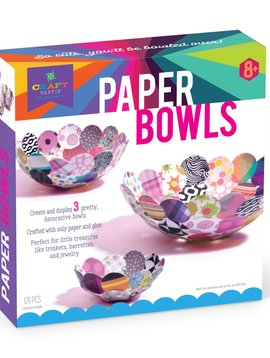 Ann Williams Craft-Tastic Paper Bowls Kit