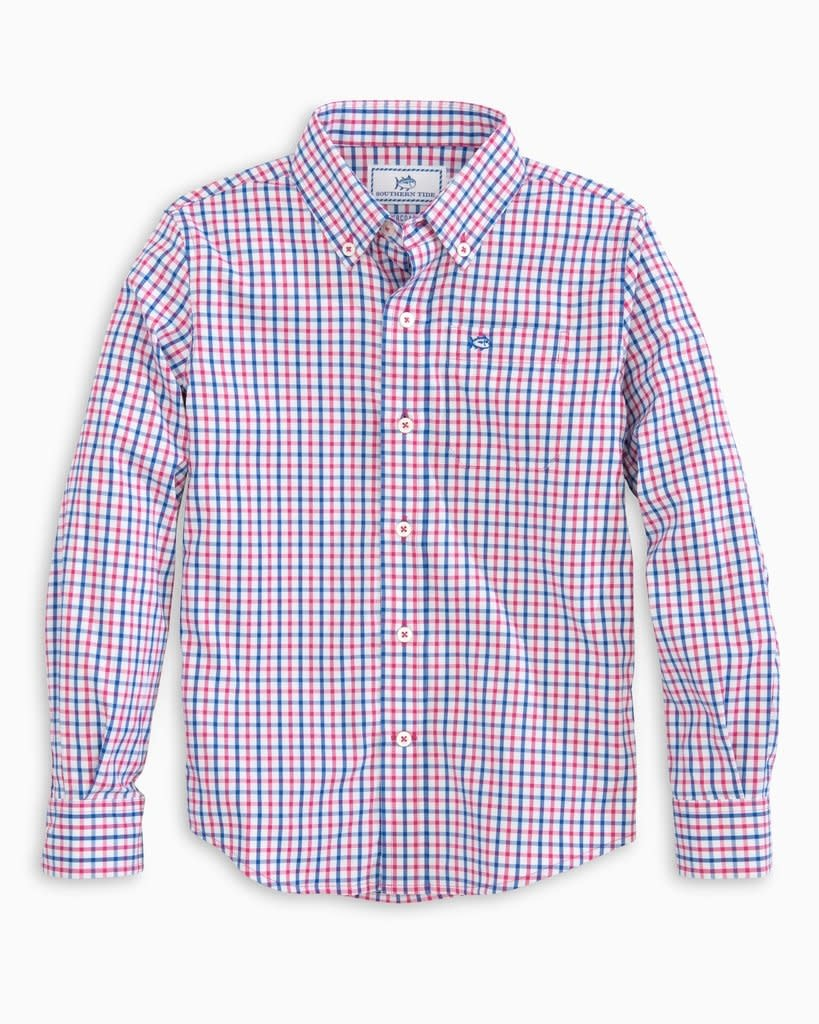Southern Tide Tattersall Sportshirt