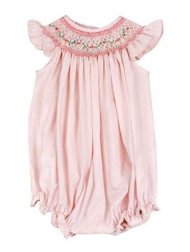 Bailey Boys Pink Vine Bishop Romper
