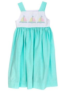 Bailey Boys Sailboat Shadow Work Sundress