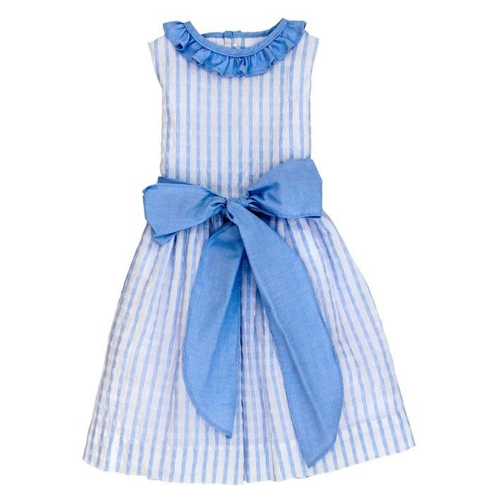 Bailey Boys Sea Island Seersucker Empire Dress