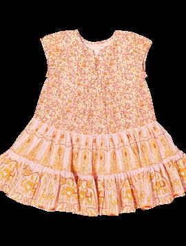 Pink Chicken Strawberry Cream Penelope Dress