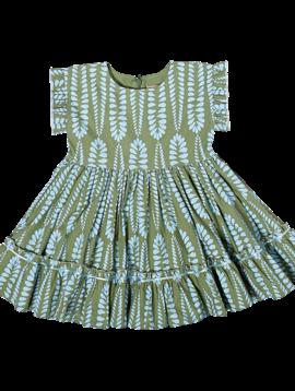 Pink Chicken Pine Green Niley Dress