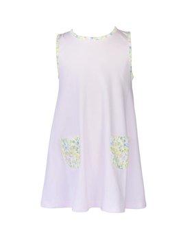 the proper peony Garden Floral A-Line Dress