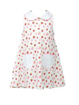 the proper peony Strawberries A-Line Dress