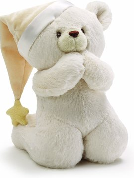 Gund Prayer Bear Sound Toy 8""