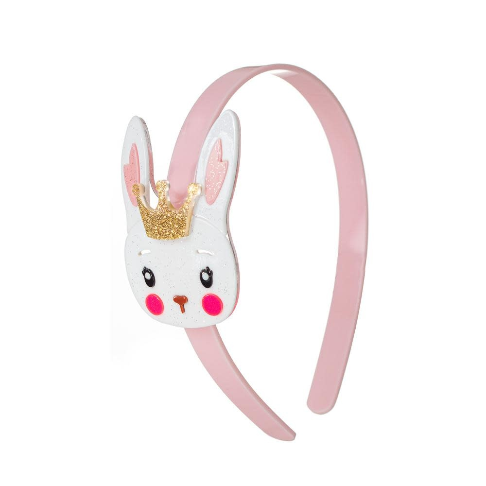 lilies&roses Bunny with Crown Headband
